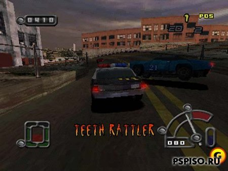 Destruction Derby Raw PSX - �������,  ��������, ���� ��� psp,  ���� �� psp.