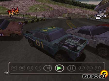 Destruction Derby Raw PSX - ���������, psp gta, psp 3008,  ��������.