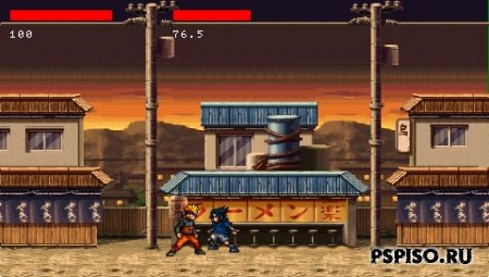 Naruto (Contra Edition) v2 [homebrew-игра]