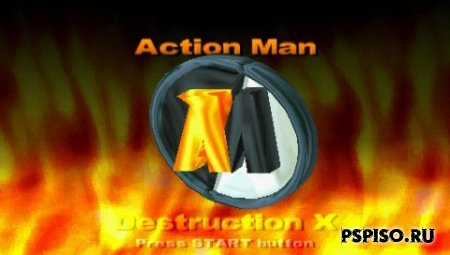 Action Man: Destruction X [PSX][ENG]