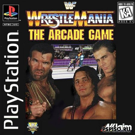 WWF Wrestlemania - The Arcade Game [PSX]
