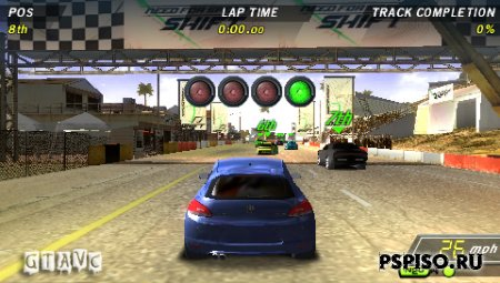 Need for Speed: Shift - USA - psp,  psp 3008,  игры для psp, psp 3008.