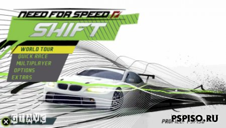 Need for Speed: Shift - USA - psp ���������,  psp gta, psp 3008, psp.
