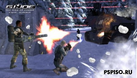 G.I. Joe: The Rise of Cobra - EUR - фильмы на psp,  игры для psp, игры для psp,  аниме.