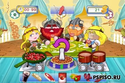 Yummy Yummy Cooking Jam [EUR] [FULL-MINI] [PSP ISO Игры]