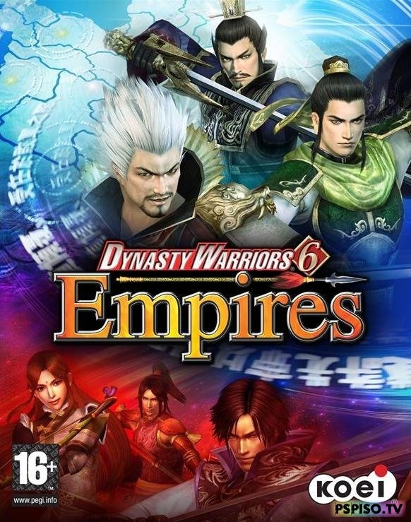 Dynasty Warriors 6 Empires - JPN - темы для psp, psp gta, psp бесплатно, psp 3008.
