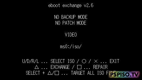 Eboot Exchange v2.8 ( ������ ���� ��������� 6.10)