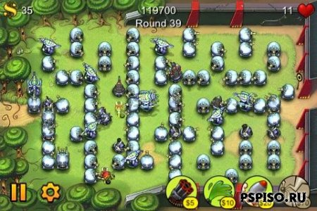 Fieldrunners (PSN PSP MINI) (All CFW)