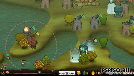PixelJunk Monsters Deluxe (PSN Games) (5.xx m33)
