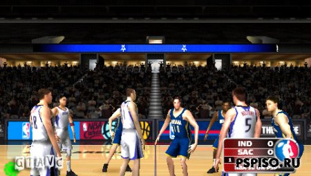 NBA 10 The Inside - USA - аниме,  без регистрации, psp 3008,  игры на psp.