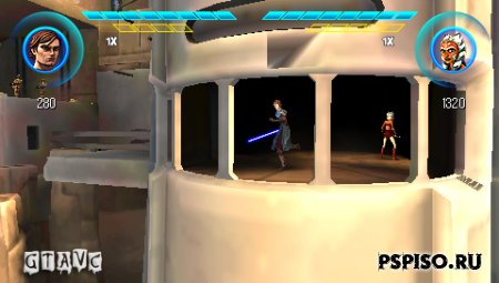 Star Wars: The Clone Wars Republic Heroes - EUR - psp 3008, игры нa psp, игры для psp, psp 3008.