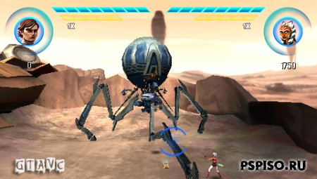 Star Wars: The Clone Wars Republic Heroes - EUR - psp 3008, psp 3008, игры для psp скачать, темы для psp.