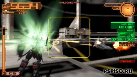 Скриншоты Armored Core Silent Line Portable