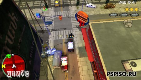 Grand Theft Auto: Chinatown Wars ENG Rip - psp бесплатно, psp gta, обои, бесплатно.