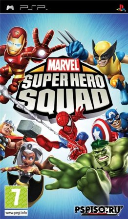 Marvel Super Hero Squad (ENG)