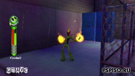BEN 10: ALIEN FORCE Vilgax Attacks - USA - psp игры   ,  psp скачать,  псп,  psp go.