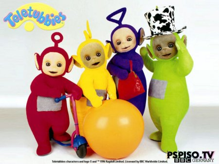 Play with the TeletubbiesИграй с Телепузиками