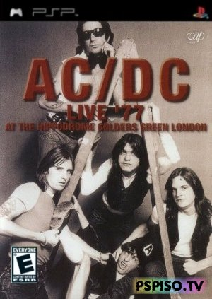 AC/DC - Live At The Hippodrome Golders Green London (1977)