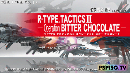 R-Type Tactics 2: Operation Bitter ChocolateDEMOJAP - psp �������, ���� psp, ���� ��� psp, psp soft.