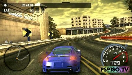 ����� Need for Speed Most Wanted 5-1-0 - ������� ��������� ���� ��� psp, psp soft,  ���� ��� psp �������,  ������ ���� �� psp.