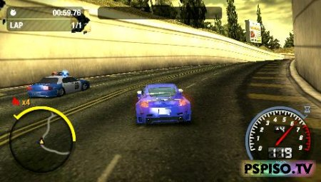 ����� Need for Speed Most Wanted 5-1-0 - ��������� psp,  psp go, ���� ��� psp, ������� ���� ��� psp.
