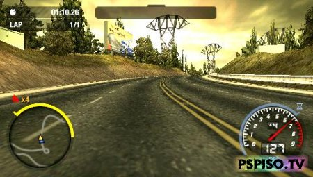 ����� Need for Speed Most Wanted 5-1-0 - ���,  ������� ��������� ���� ��� psp, psp, ������� ���� ��� psp.