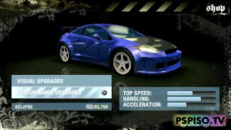 ����� Need for Speed Most Wanted 5-1-0 - ������� ���� ��� psp,  ��������� psp,  psp �������,  ������ ���� �� psp.