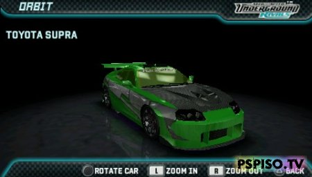 NFS Undergorund Rivals (made by Saka) - ���� ��� psp, psp soft,  ������� ��������� ���� ��� psp, �������� ��� psp.