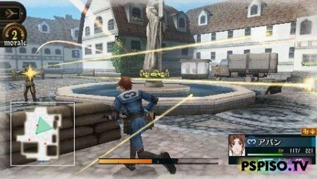 Valkyria Chronicles 2 JAP DEMO - psp игры ,  psp slim, psp, коды для psp.