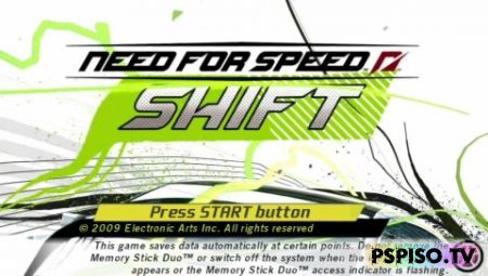 Обзор Need For Speed Shift - коды для psp,  бесплатно psp, psp soft,  скачать игры для psp.