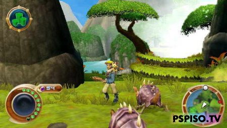 Jak and Daxter: The Lost Frontier - EUR - эмуляторы psp, psp бесплатно , psp slim, игры для psp.