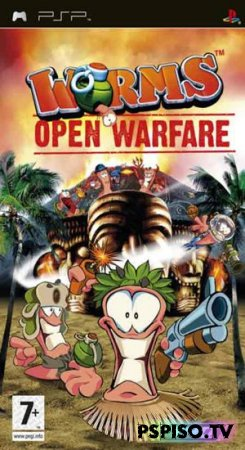 Обзор Worms: Open Warfare и Worms: Open Warfare 2 - psp игры,  игры для psp, для psp,  прошивка psp.