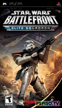 Видео обзор Star Wars Battlefront: Elite Squadron (by Artamonov92) - игры для psp,  скачать игры для psp,  скачат игры на psp бесплатно, коды для psp.