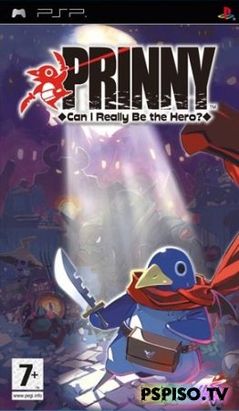 Видео-обзор Prinny: Can I Realy Be the Hero? (by Borshec) - прошивка psp, прошивки для psp ,  psp игры, игры psp.