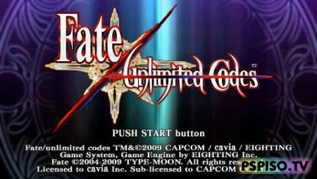 Fate Unlimited Codes - EUR