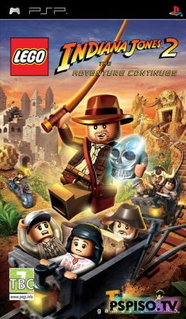 Lego Indiana Jones 2: The Adventure Continues - EUR