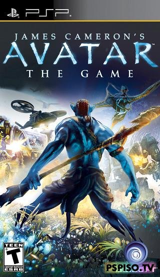 James Cameron's Avatar: The Game - psp скачать, psp go обзор, прошивки psp, обзор sony psp slim.