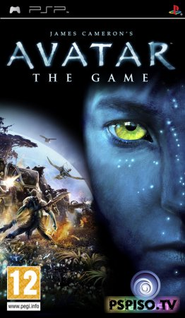 James Cameron's Avatar: The Game - EUR - psp 3008,  обои,  	скачать игры на psp бесплатно, фильмы на psp.