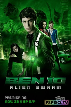 ��� 10 ������������ ��� / Ben 10 Alien Swarm (2009) [BDRip]