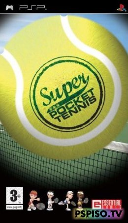 Super Pocket Tennis - USA (PSN)
