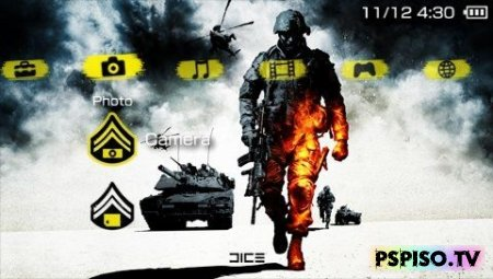 Тема Battlefield Bad Company