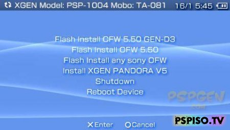 Custom Firmware 5.50 Gen D3 Final
