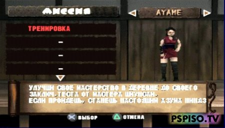 Tenchu 2: Birth of the Stealth Assassins - темы для psp, psp gta, фильмы на psp, прошивки для psp.