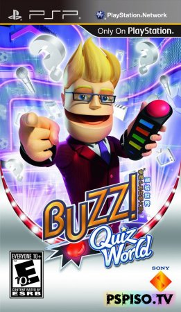 Buzz! Quiz World - USA - PSN