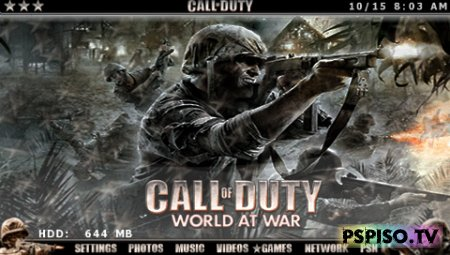 Call of Duty Word at War Animated