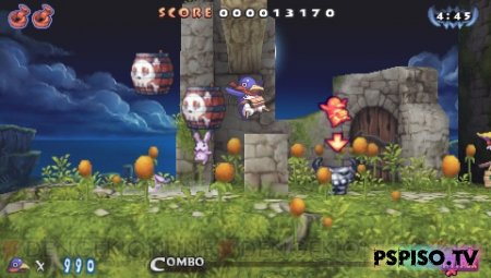 ��������� Prinny 2: Dawn of the Great Pantsu War - ���� � ����� �� psp, ������ psp, sony psp �����, �������� psp.