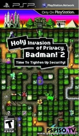Holy Invasion of Privacy Badman! 2 DEMO ENG - игры для psp, игры для psp скачать, игры нa psp, psp бесплатно.