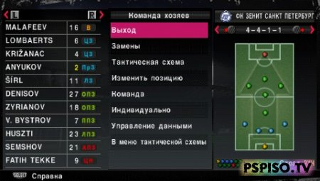 Russian Patch v. 0.20 для PES 2010