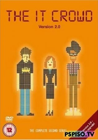 Компьютерщики: Сезон 2 / The IT Crowd Version 2.0 2007 DVDRip - psp gta,  прошивка psp, psp 3008, одним файлом.