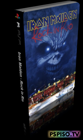 Iron Maiden - Rock in Rio (DVDRip) - psp,  игры для psp,  psp gta,  psp бесплатно.